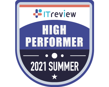 >ITreview Grid Award 2021 Spring High Performer